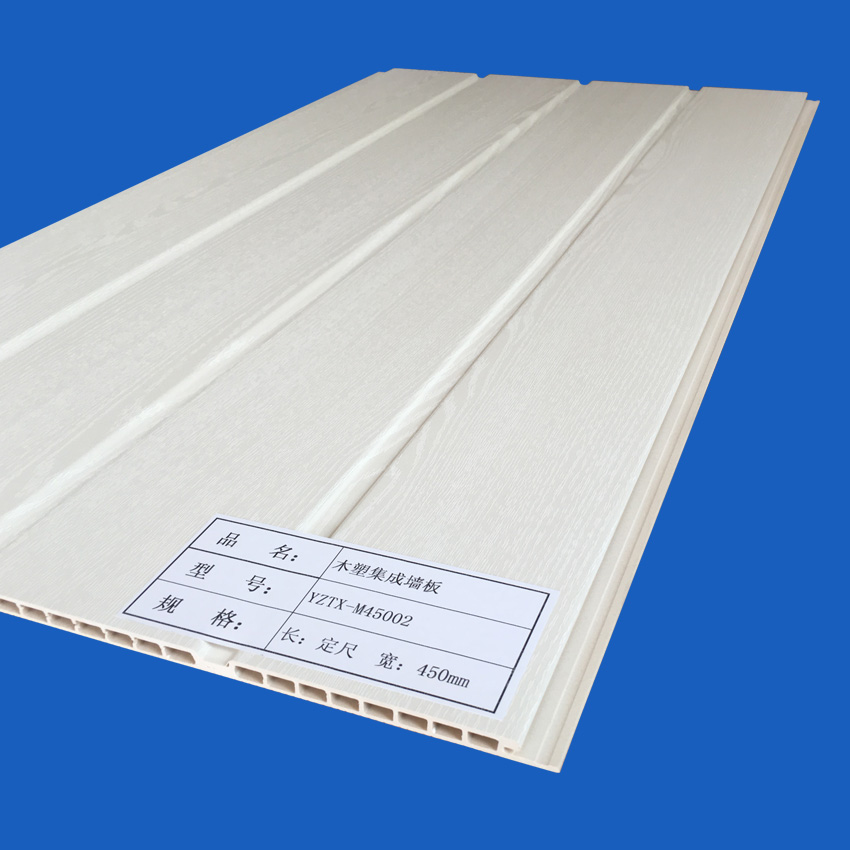 Wood-plastic Integrated Wall Plate